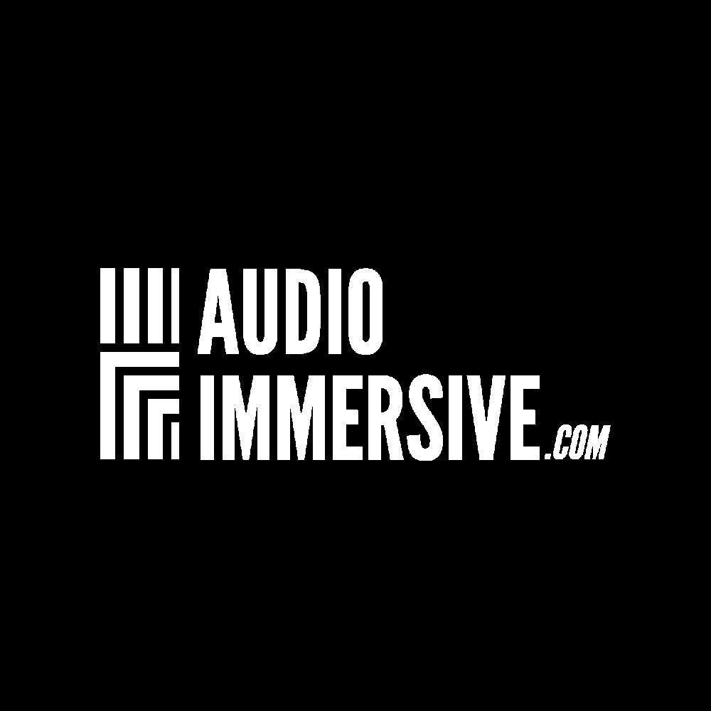 AudioImmersive Logo White